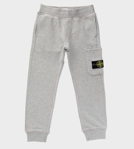 Logo Patch Sweatpants Grey