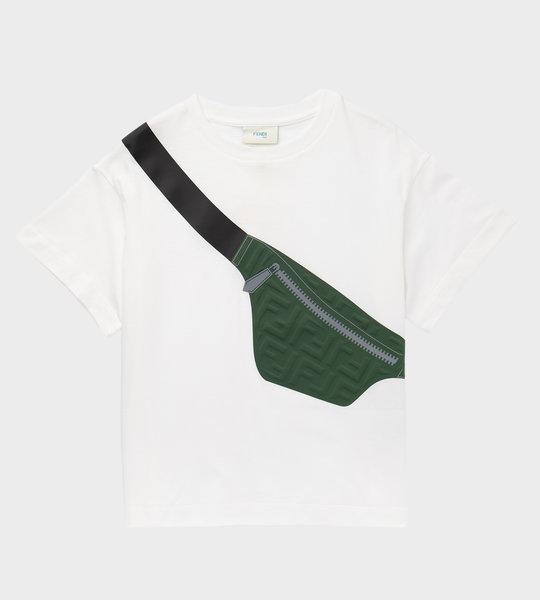 Bag Print T-Shirt White