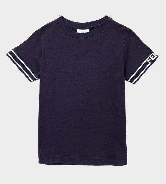 Cotton Logo T-Shirt Navy
