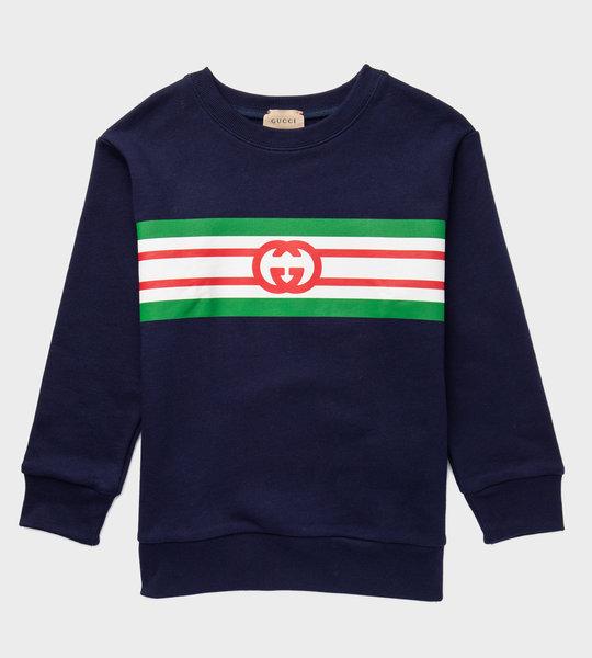 Logo Sweater Blue