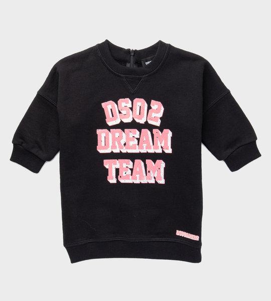 Dream Team Baby Logo Dress Black