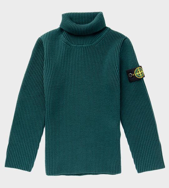 Rib Turtleneck Knitwear Green