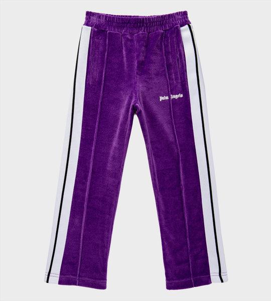 Logo Sweatpants Purple