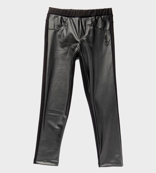 Faux Leather Legging Black