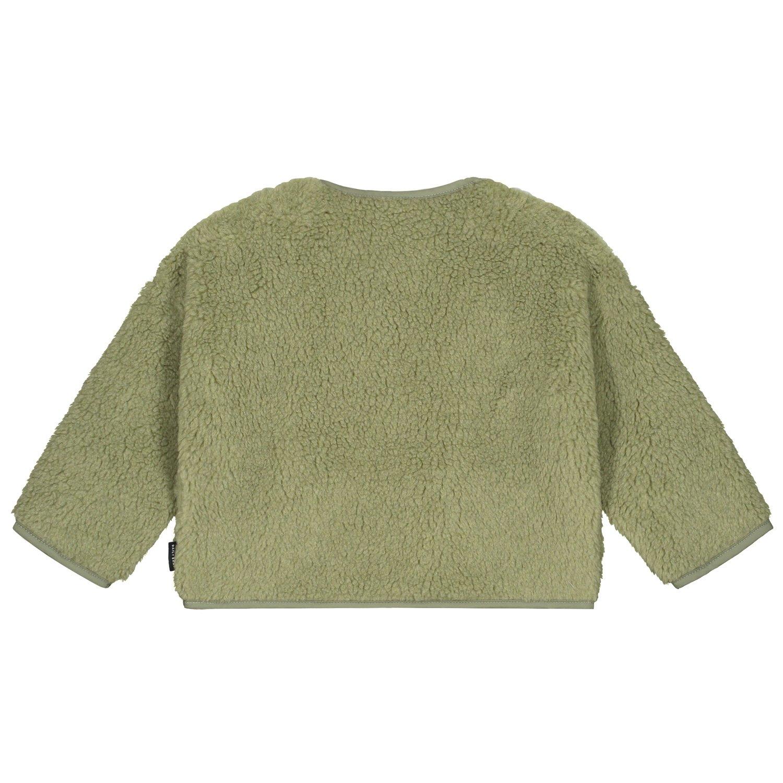 Teddy oversized sweater sage-2