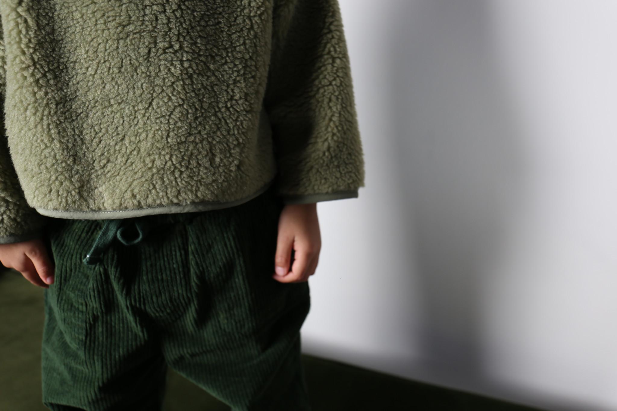 Teddy oversized sweater sage-4
