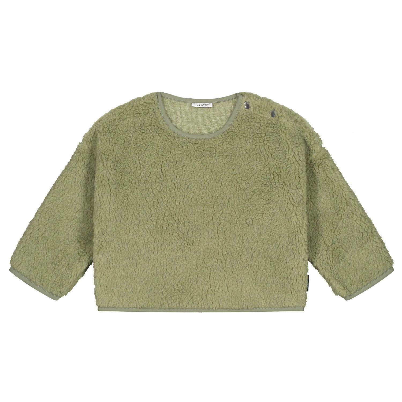 Teddy oversized sweater sage-1