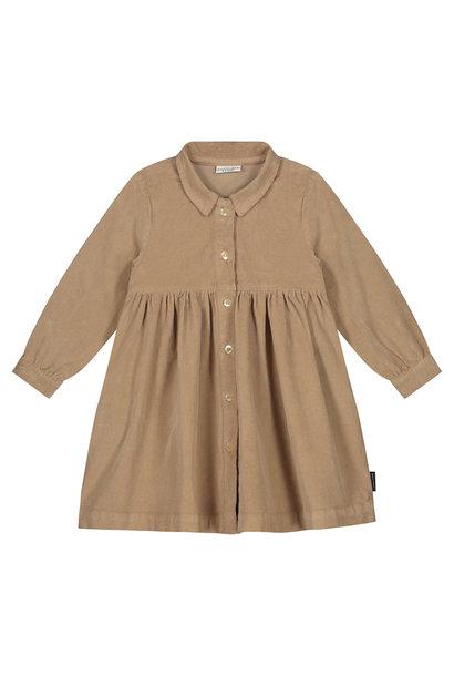 Brooke corduroy dress Khaki