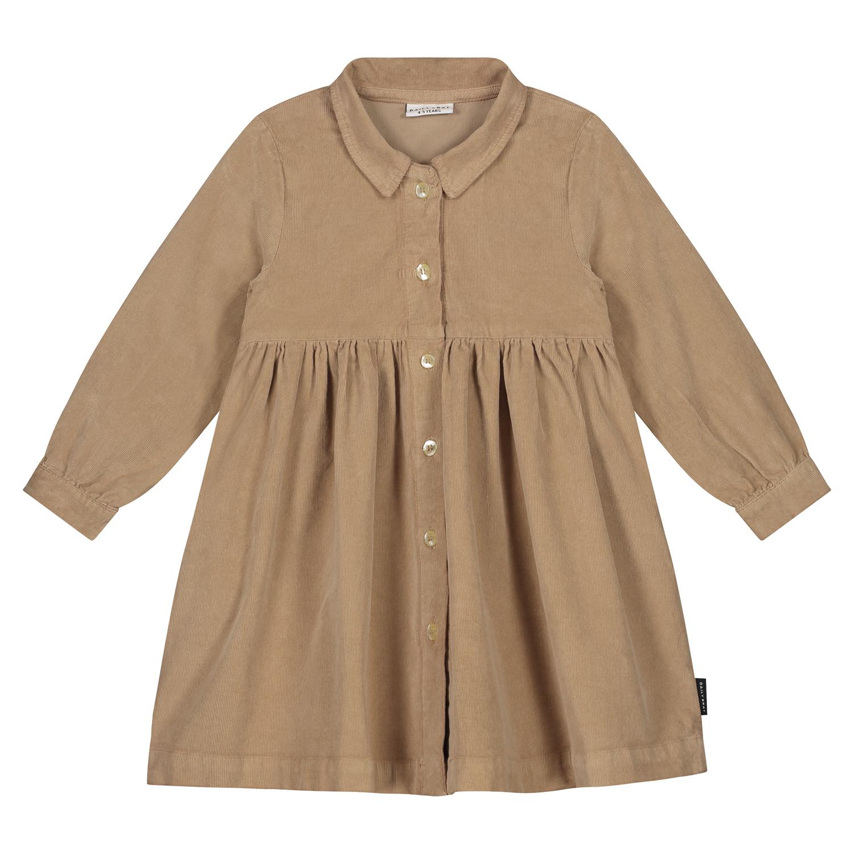 Brooke corduroy dress Khaki-1