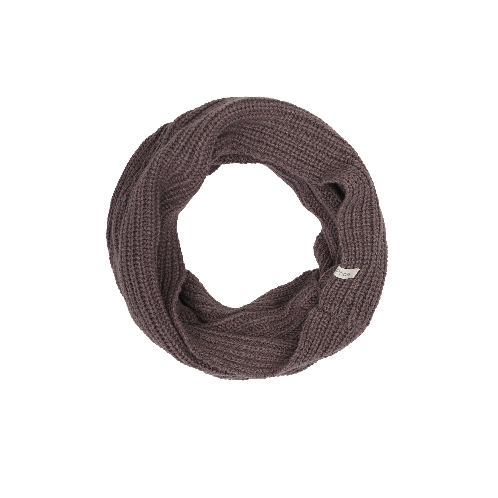 Cashmere-blend Infinity Scarf-1