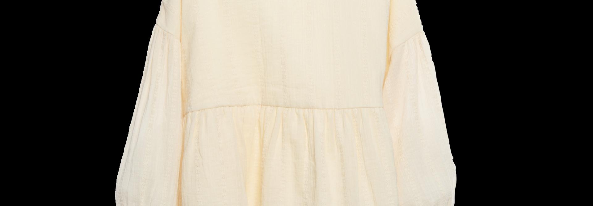 Ruffle blouse - Ecru