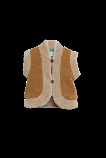 Reversible vest Mustart