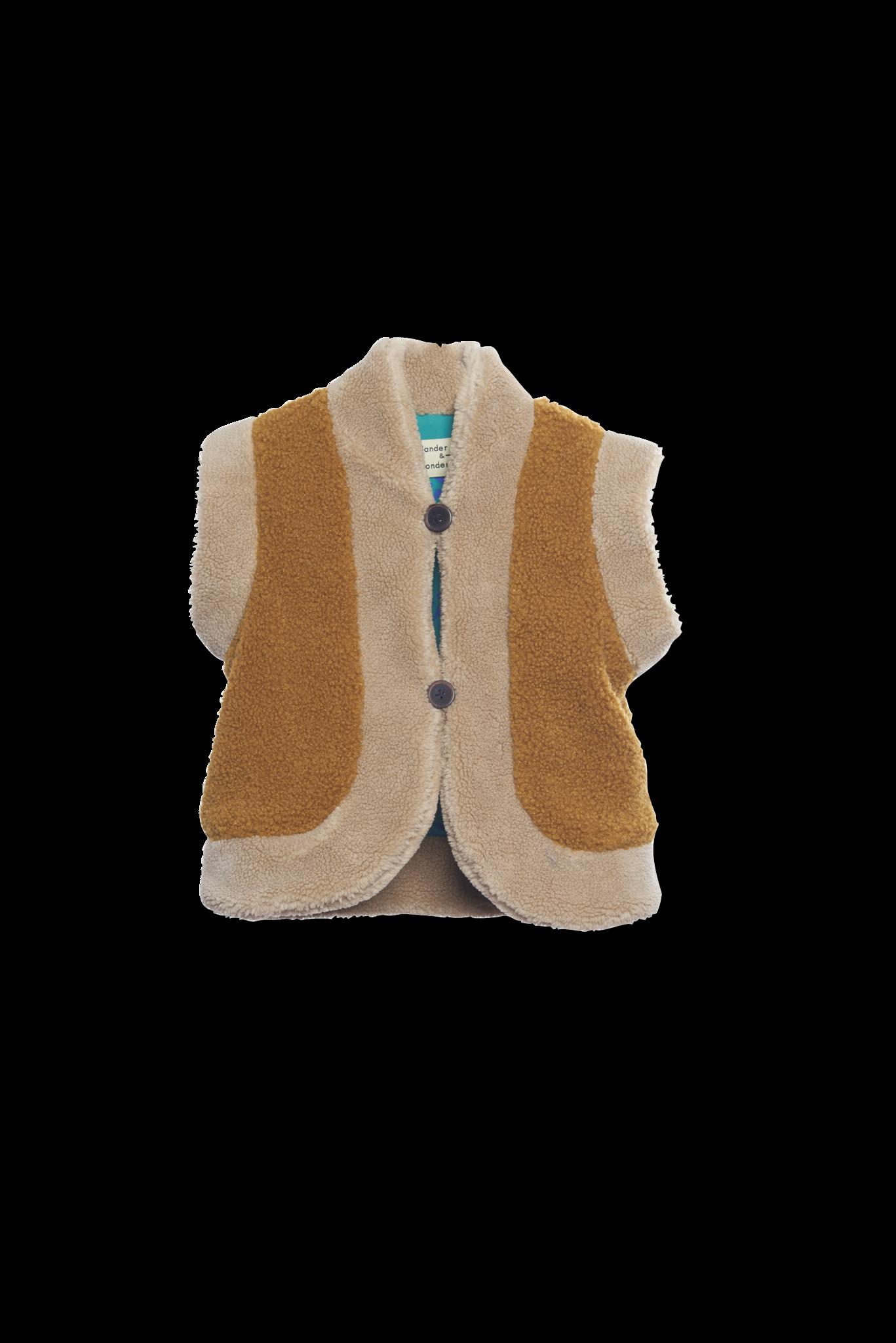 Reversible vest Mustart-1