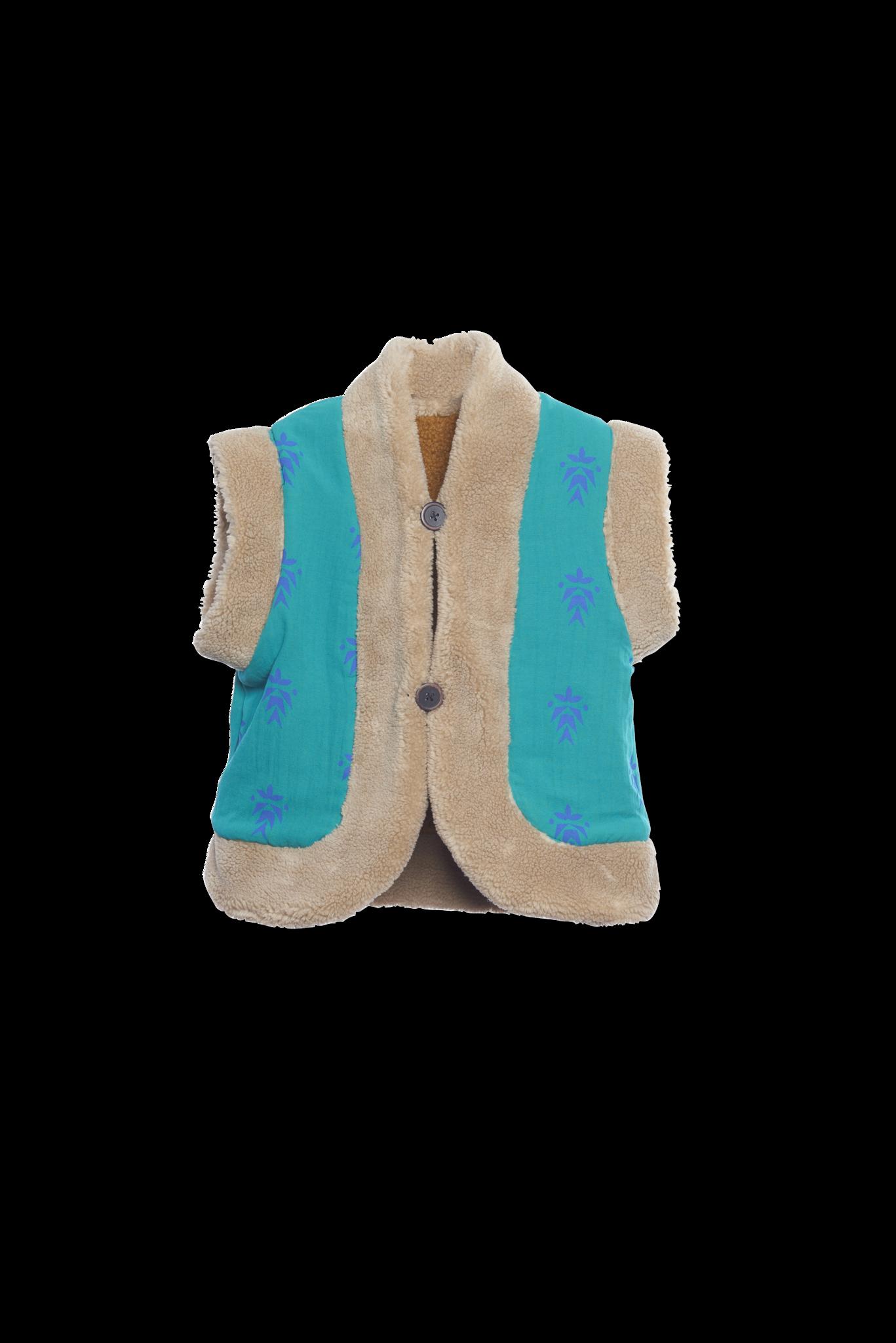 Reversible vest Mustart-2