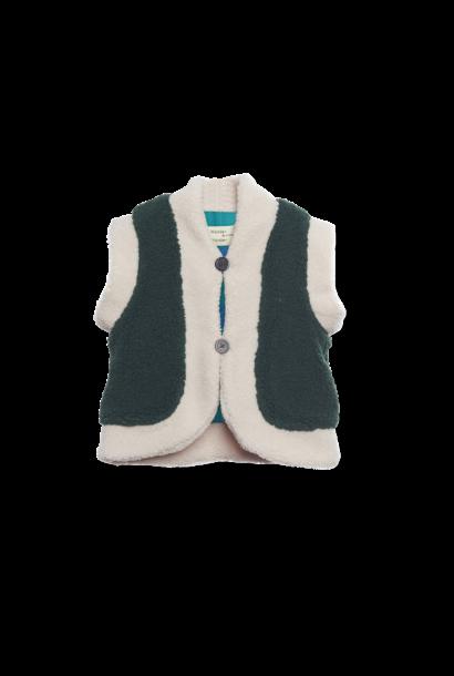 Reversible vest - Forest