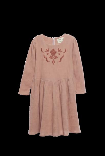 Fatima Dress Nutmeg