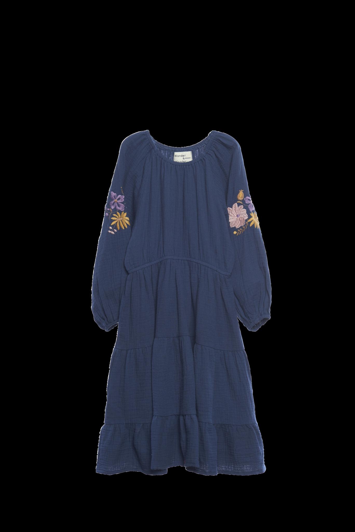 Aica Dress Indigo-1