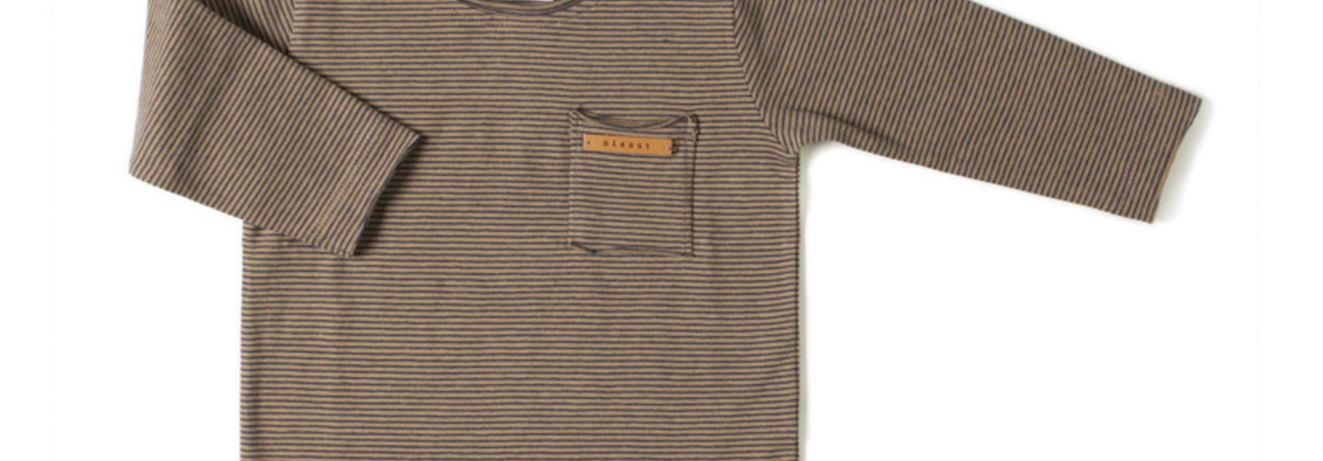 Longsleeve - Olive stripe