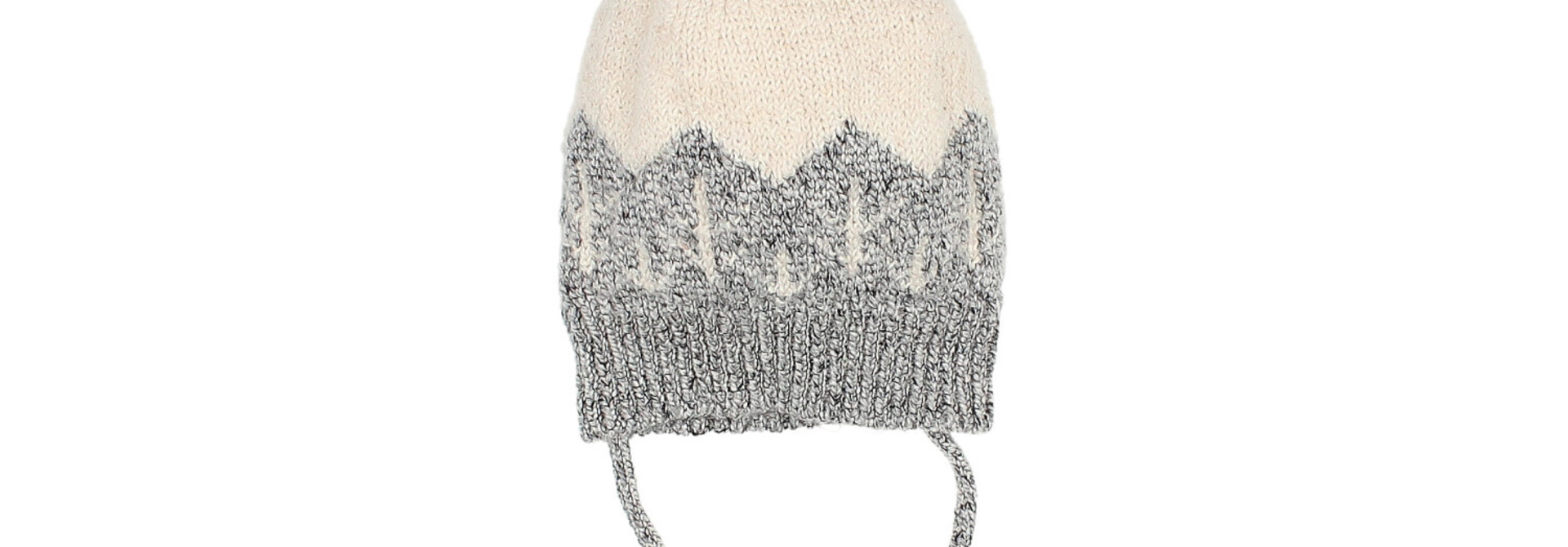 Forest baby knit hat
