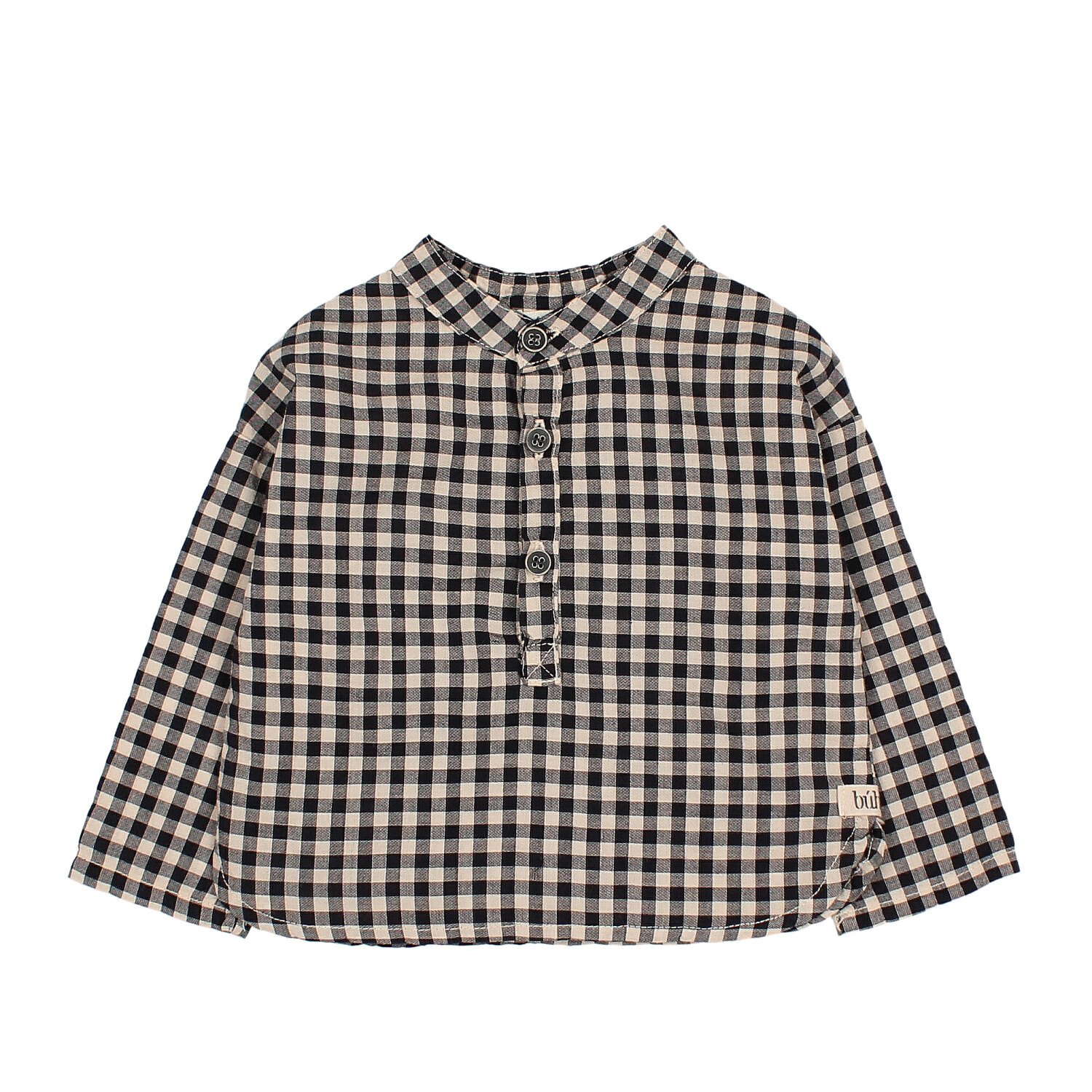 Paul Baby vichy shirt-1