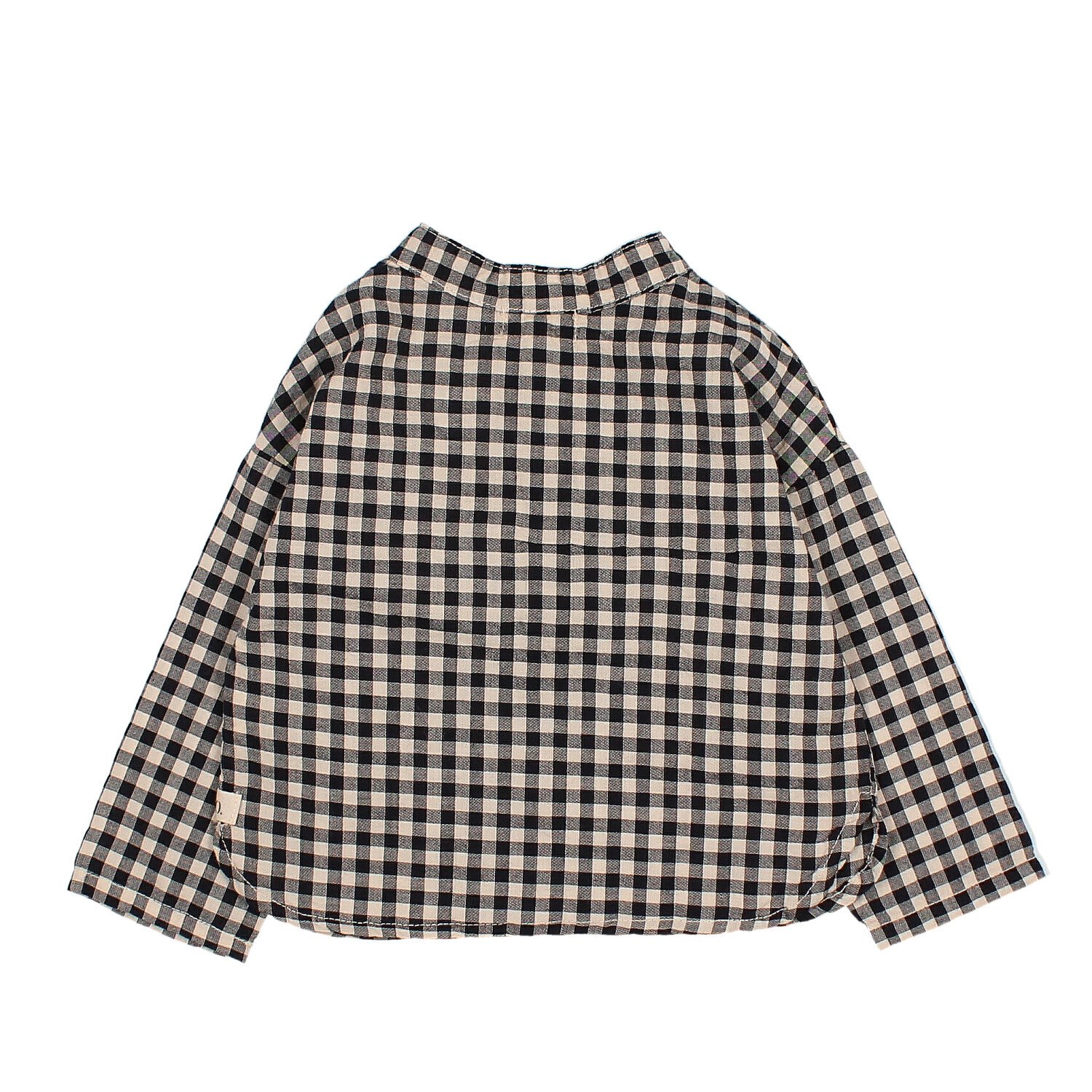 Paul Baby vichy shirt-2