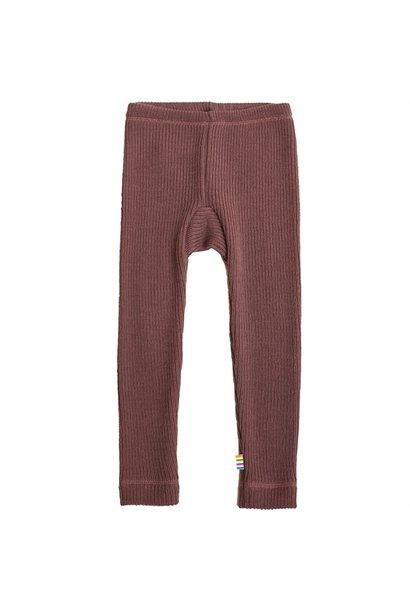 Legging rib - merino wol