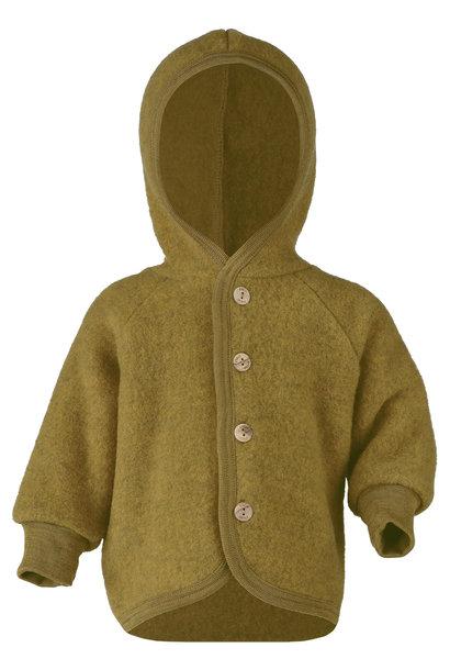 Hooded vest - Saffraan