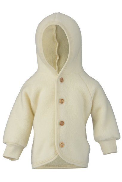 Hooded vest - Natural