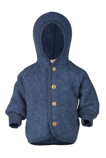 Hooded vest - Blue