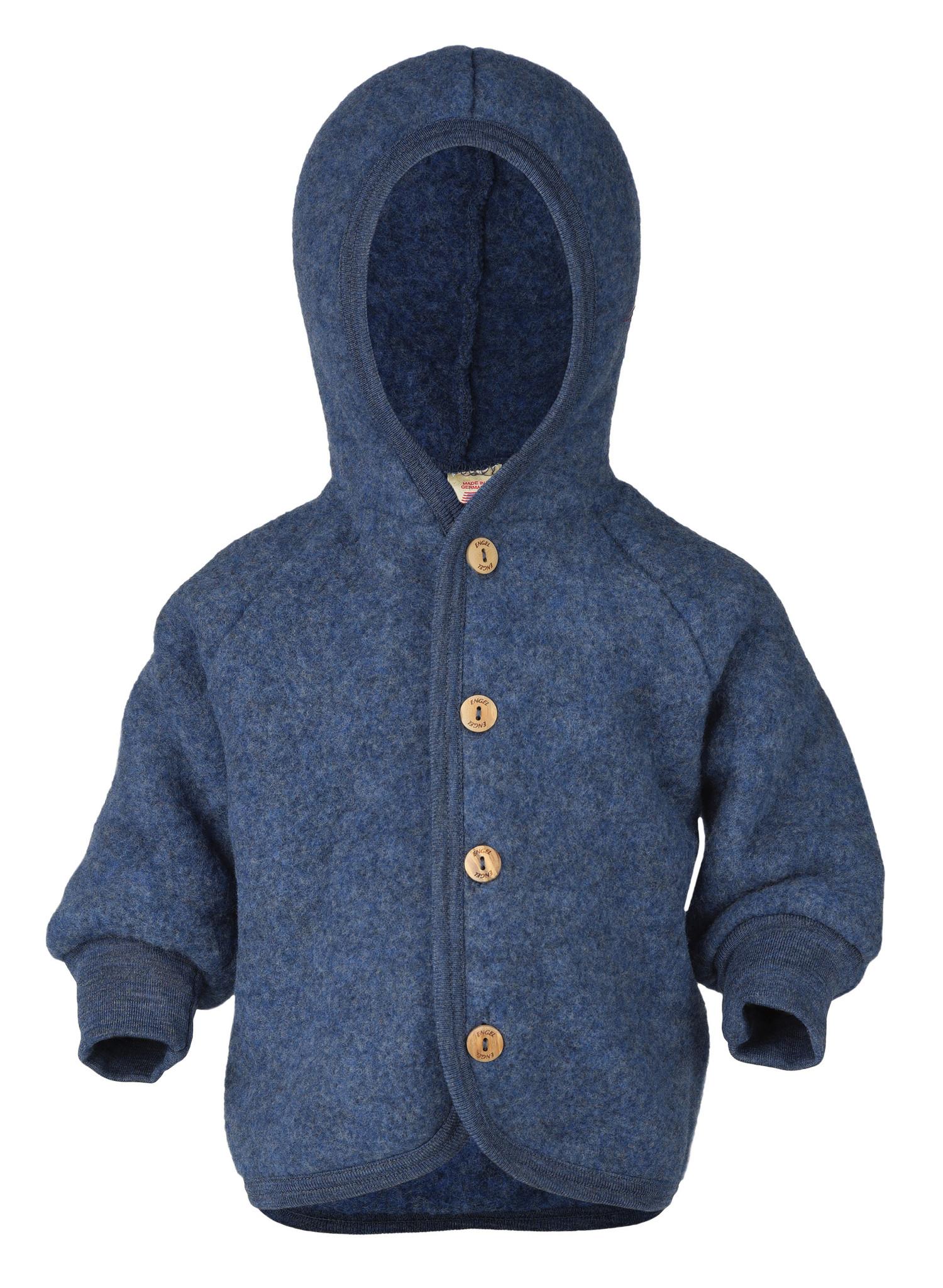 Hooded vest - Blue-1