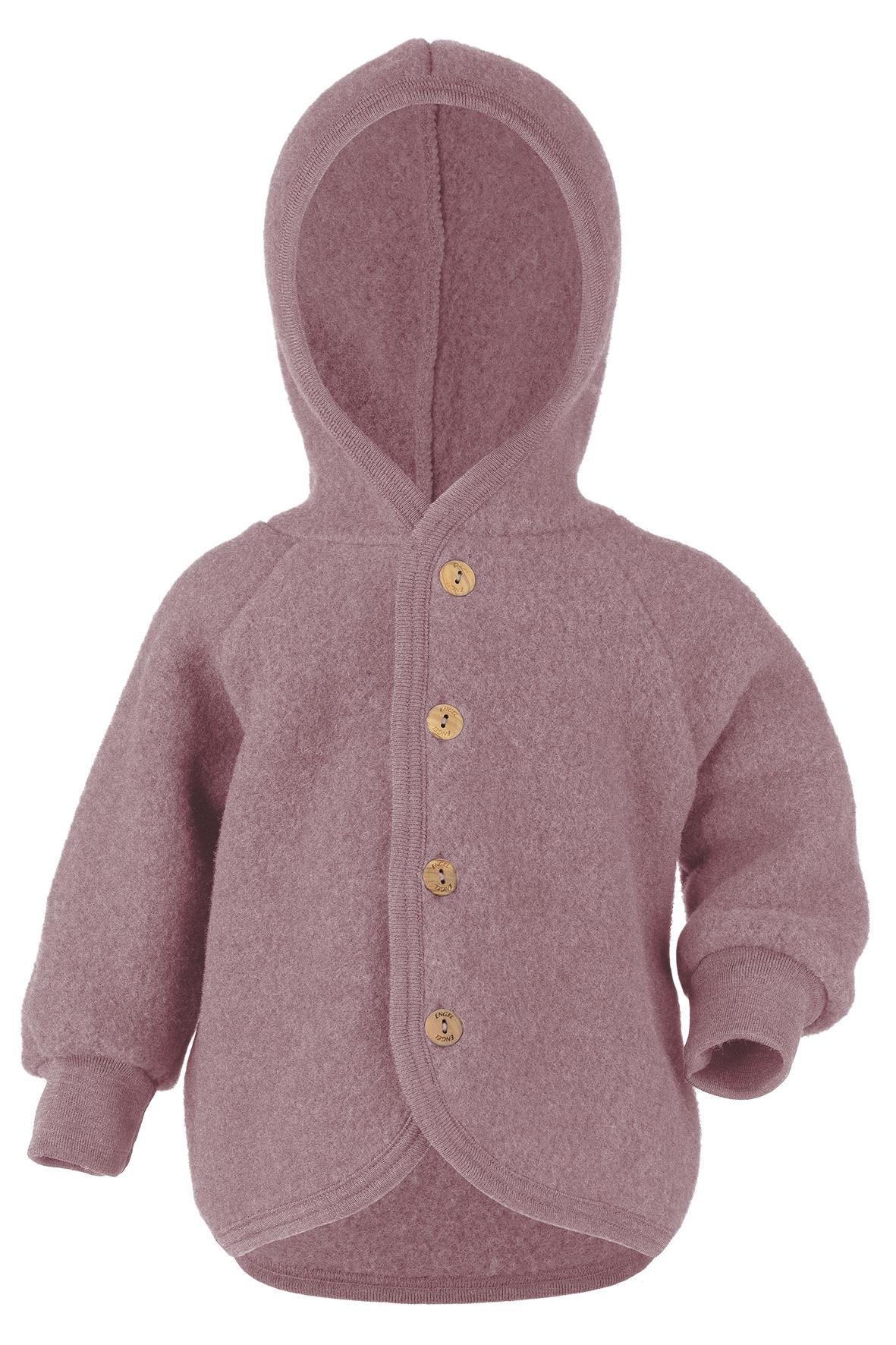 Hooded vest - Rosewood-1