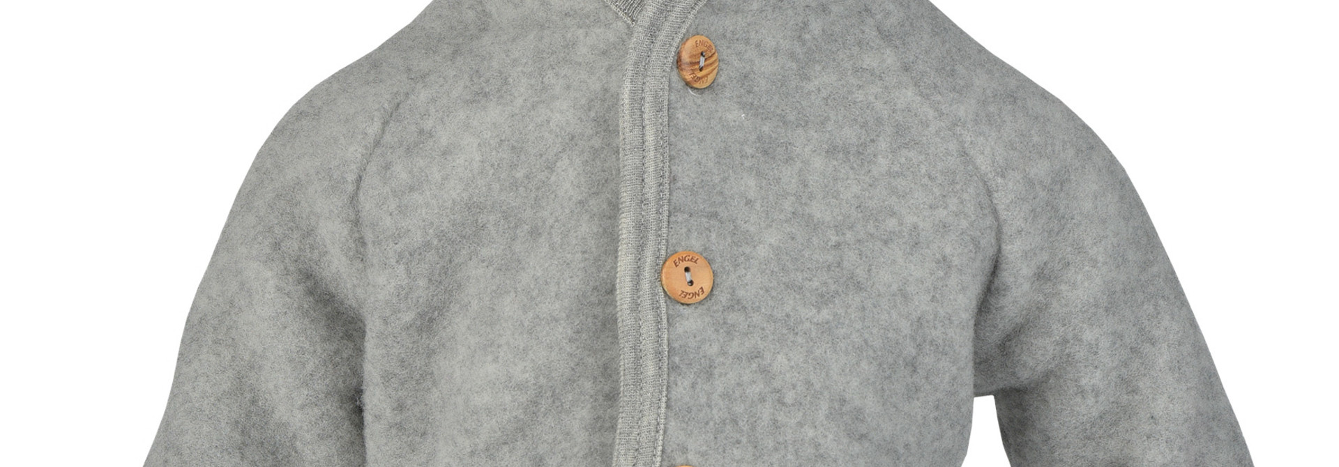 Hooded vest - Light Grey