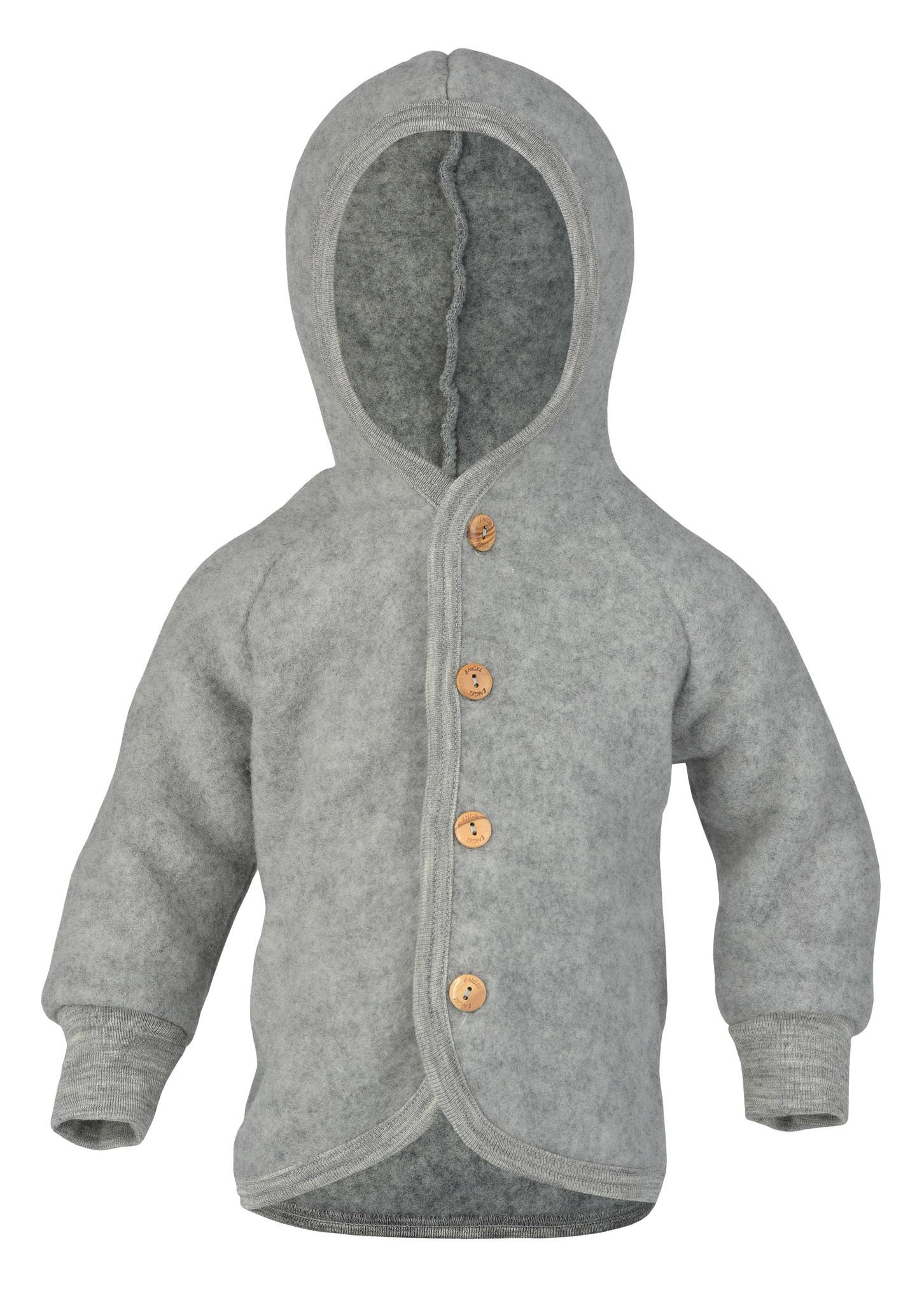 Hooded vest - Light Grey-1