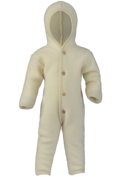 Hooded overall - Natural
