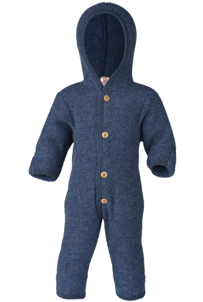 Hooded overall - Blue