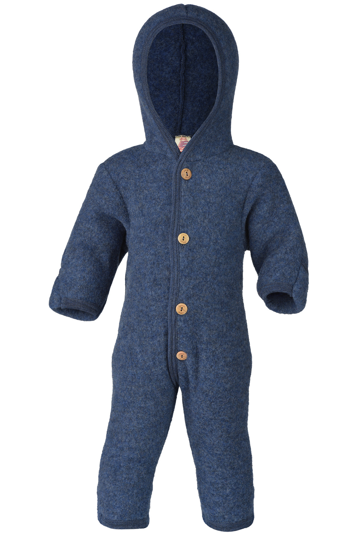 Hooded overall - Blue-1