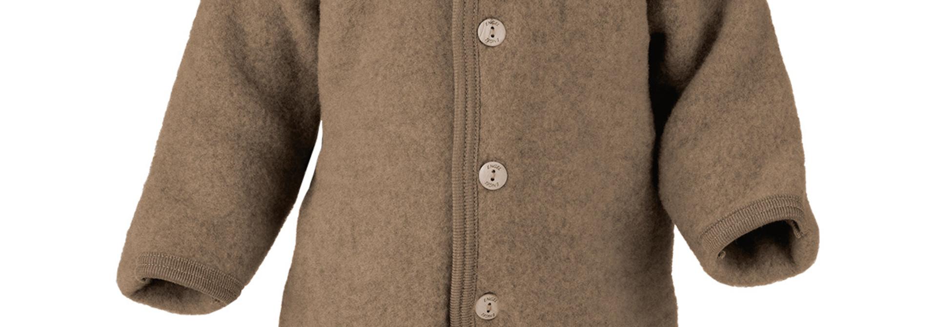 Hooded overall - Walnut