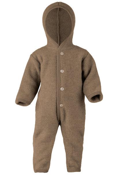 Hooded overall - Walnuss