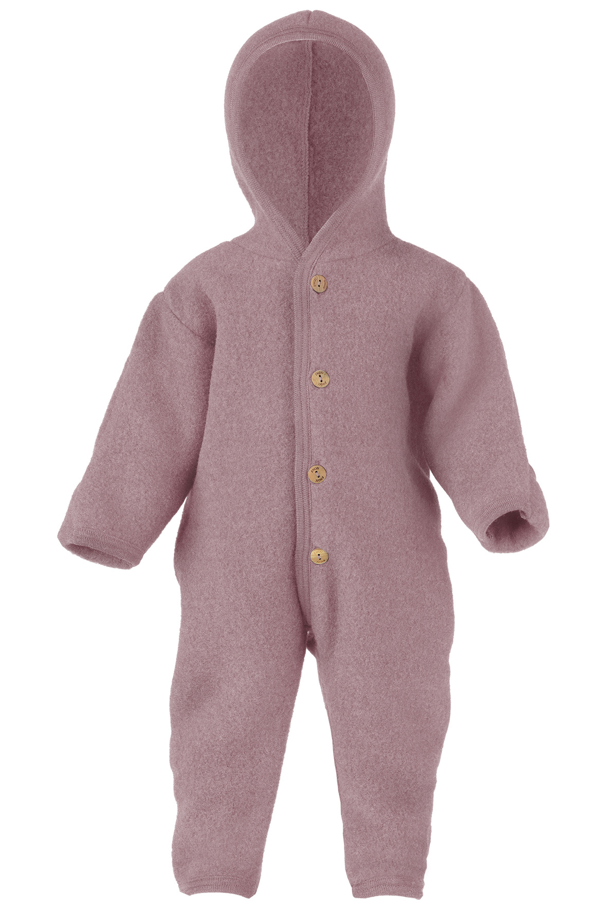 Hooded overall - Rosewood-1