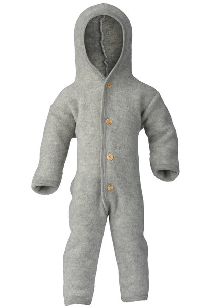Hooded overall - Light Grey