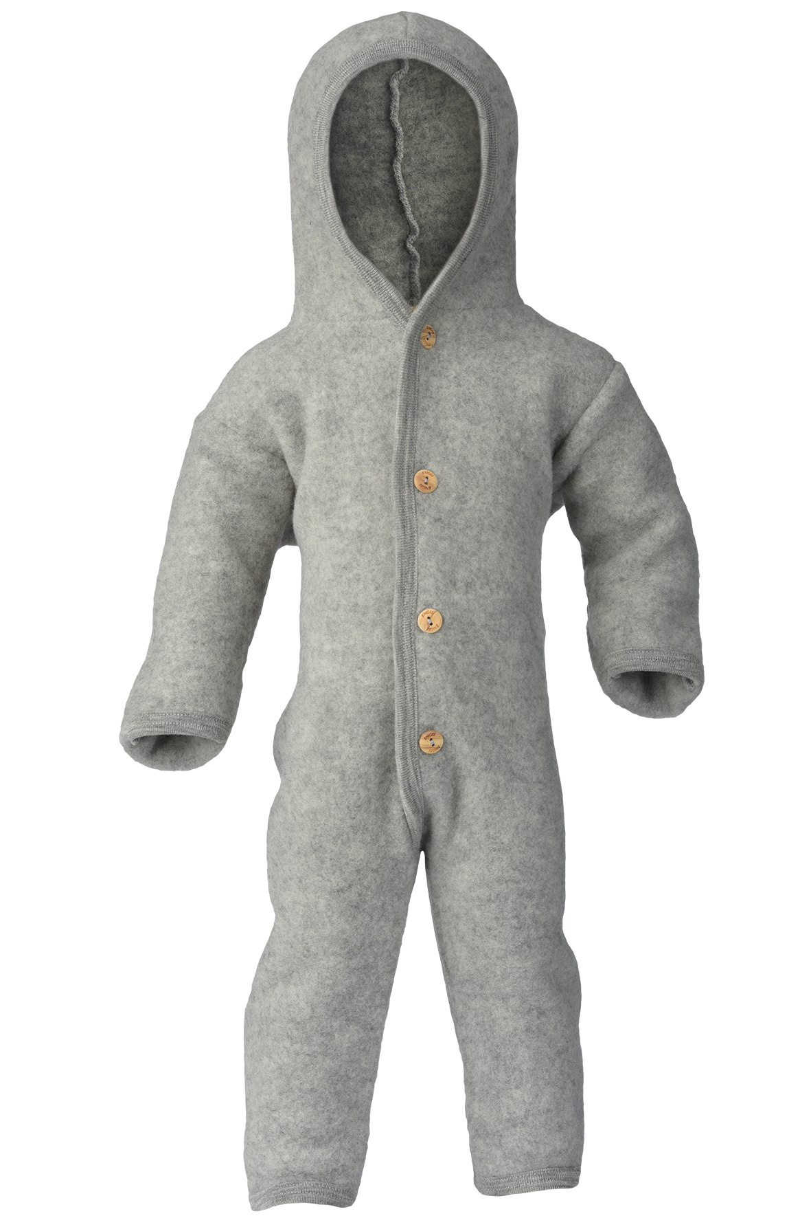 Hooded overall - Light Grey-1