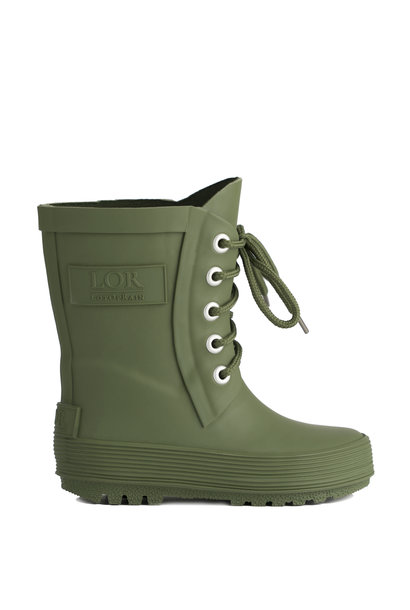 Rain boots with lace - Green