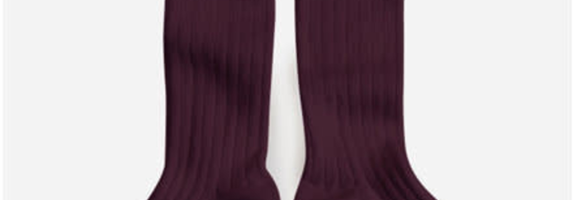 Knee Socks 'La Haute' Aubergine
