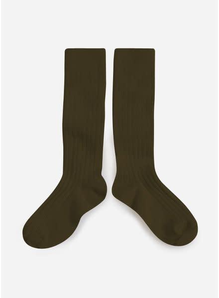 Knee Socks 'La Haute' Cactus de Mexique-1