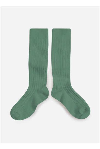 Knee Socks 'La Haute' Céladon