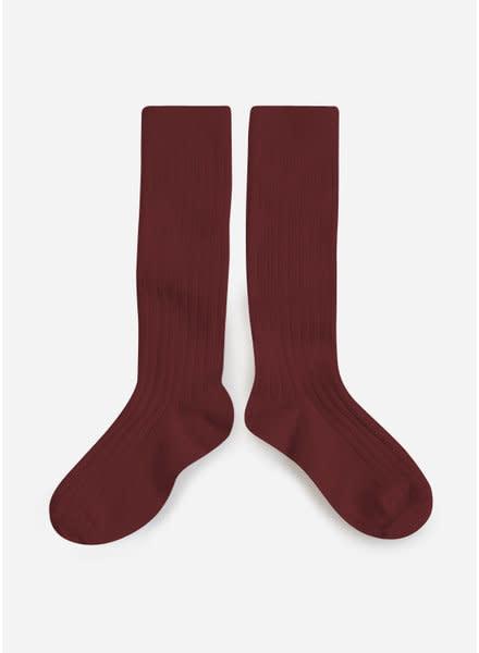 Collégien Knee Socks Chataigne-1