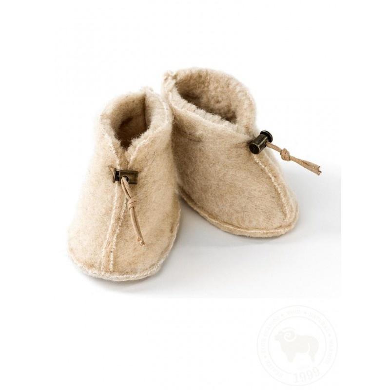 Baby Slipper Emo Wool-1