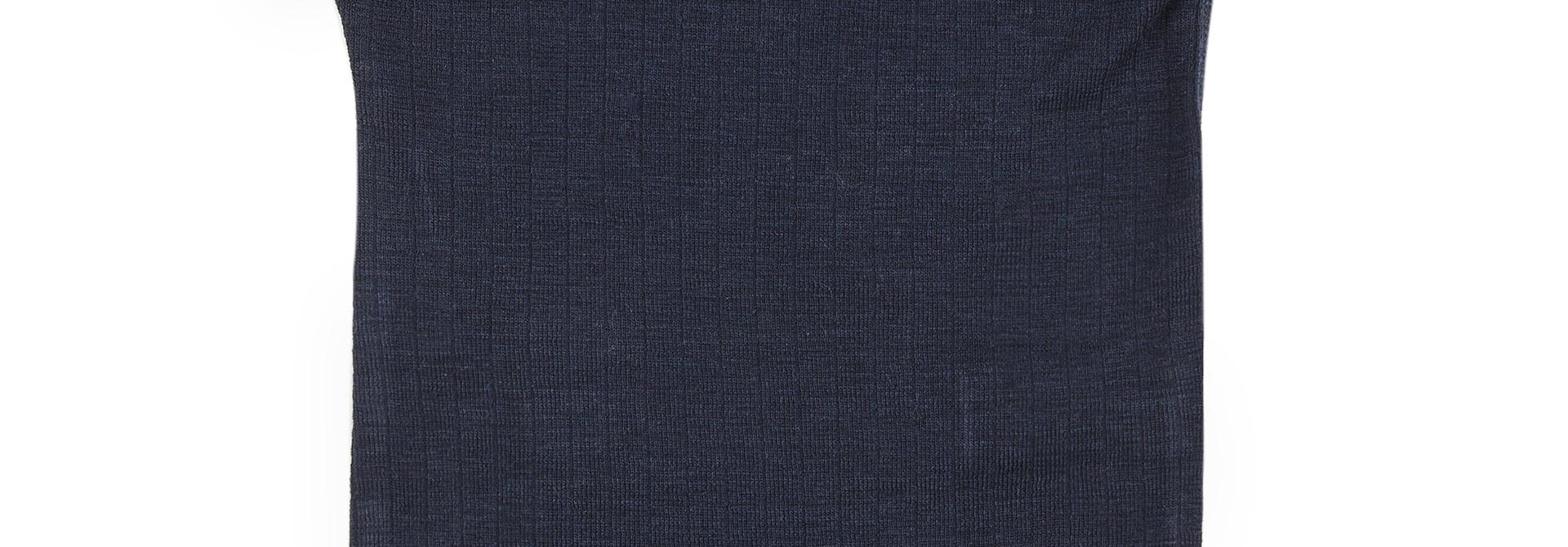 Body short sleeves - wool-silk