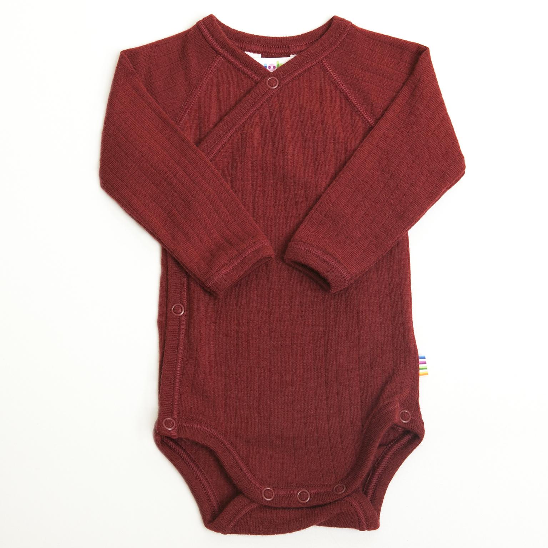 Wrap-over bodysuit - wool-silk-3