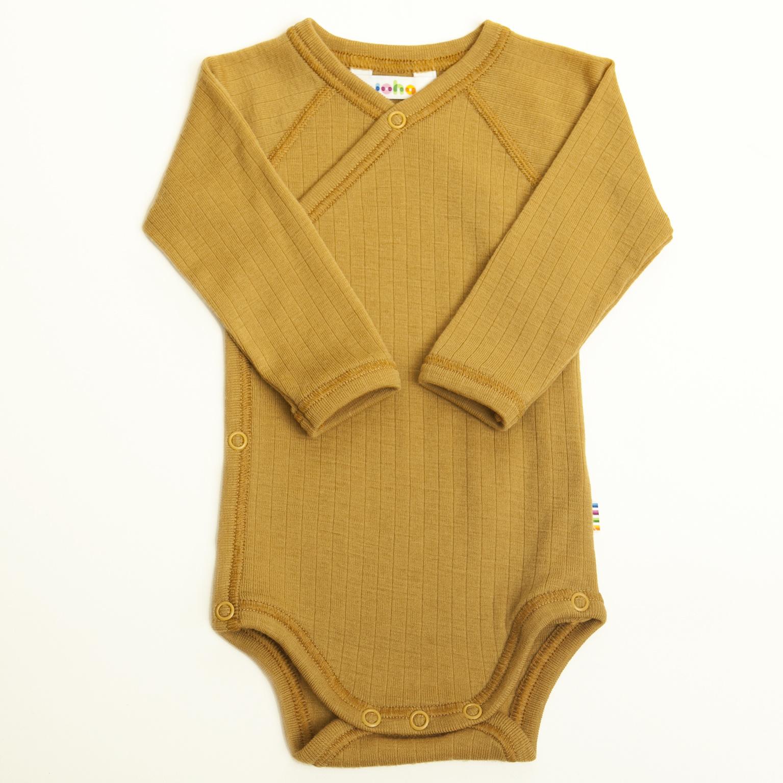Wrap-over bodysuit - wool-silk-4